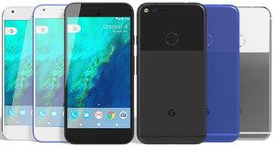 3d model realistic google pixel xl