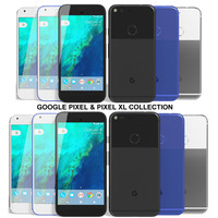 realistic google pixel xl 3d model