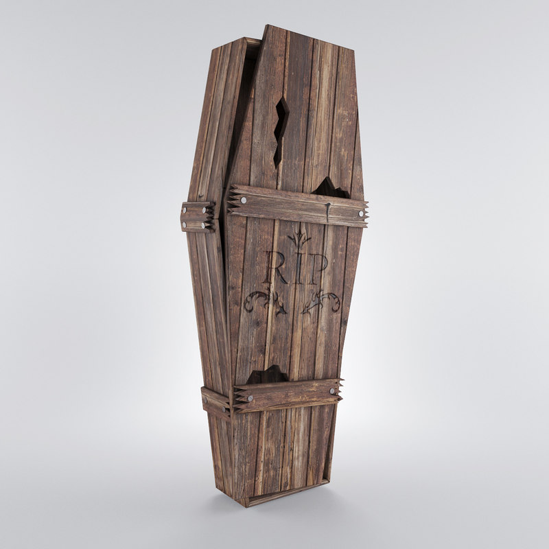 old coffin 3d max