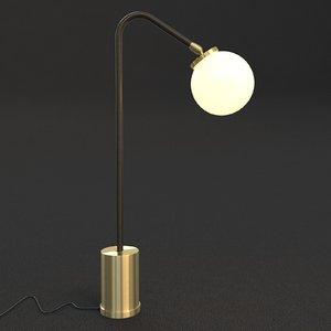 3d model table lamp lighting