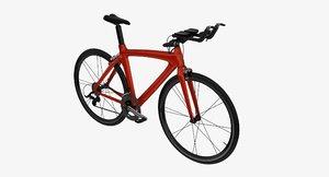 3d triathlon bicycle model