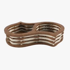 wooden box wood 3d max