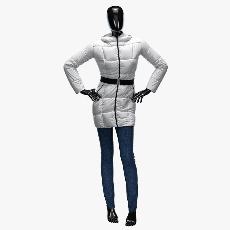 max female jacket jeans
