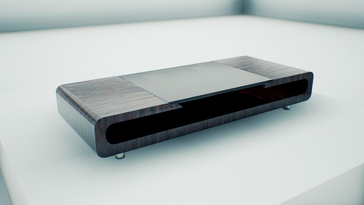 coffee table modern 3d x