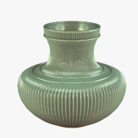 vase ceramic interior 3d 3ds