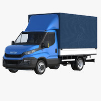 iveco daily tilt cover 3d 3ds