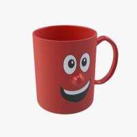 designer cup 3d max