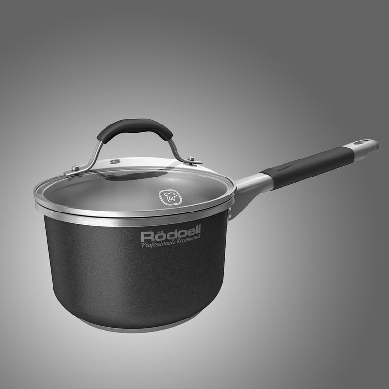 3d model of saucepan sauce pan