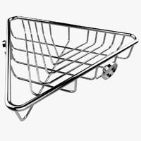 corner shelf 3d model