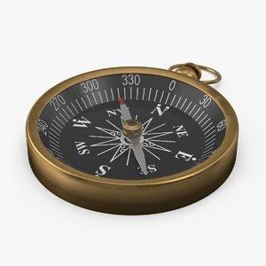 3d compass 02 model
