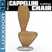 max cappellini wicker chair