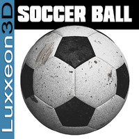 free max model soccer ball