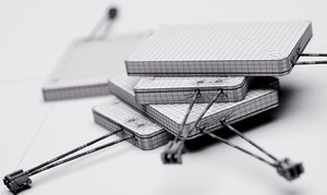3d model lithium-ion battery lipxxxx 2016