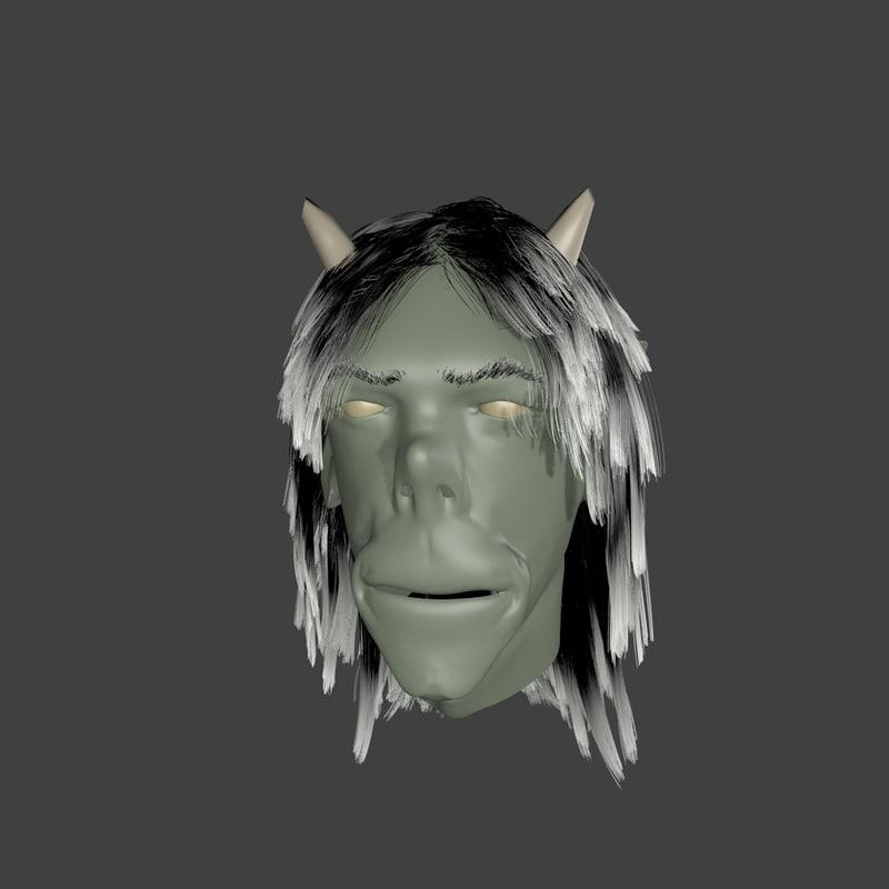 head ogre 3d model