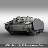 3d - hungarian assault gun