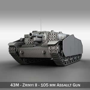 3d - hungarian assault gun