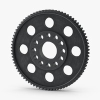 spur gear 04 gray max