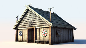 vikings house 1 3d model