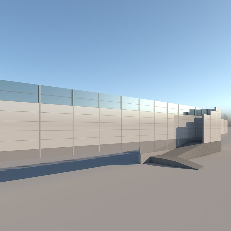 max noise protection wall