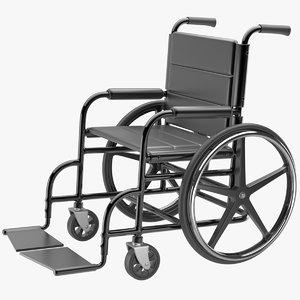 wheelchair wheel chair 3d model