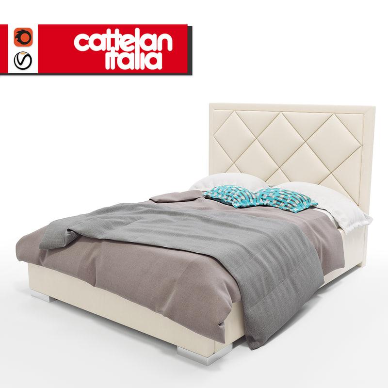 3d bed patrick model