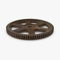 spur gear 03 rusty max