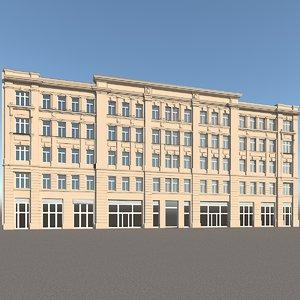 max old residental facade