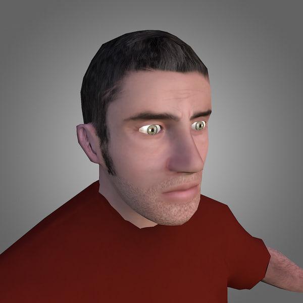 3ds male citizen