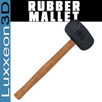 max woodworking rubber mallet