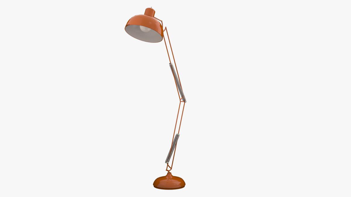 3d drafting lamp model