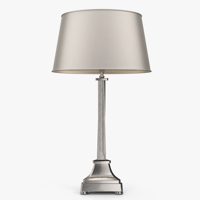 3d model eichholtz - madeleine table lamp