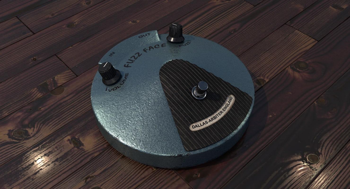 3d model arbiter fuzz face