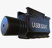 3d laser sight