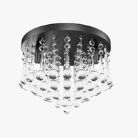 light canarm daya crystal 3d obj