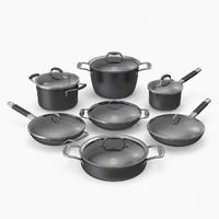 cookware set 3d max