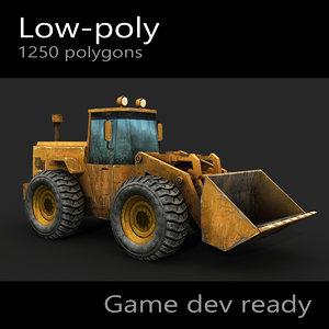 3d wheel loader