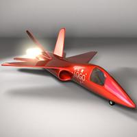 jet plane 3d model