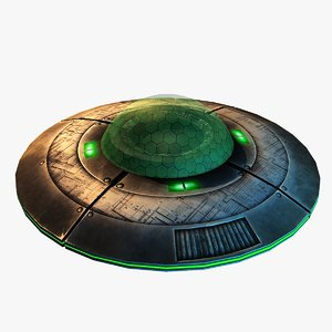 free 3ds model flying saucer