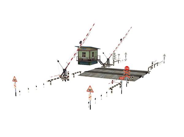railroad crossing max