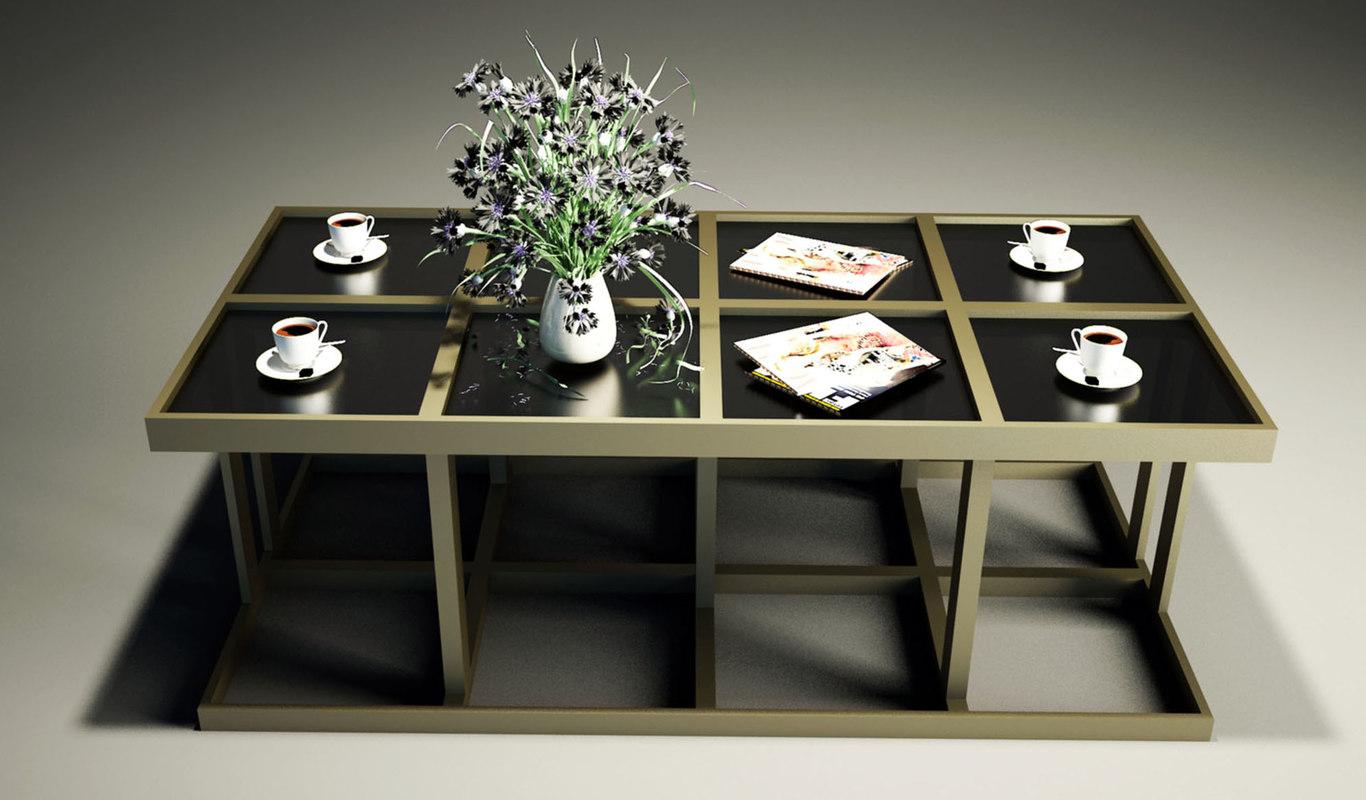 coffe table km 3d model