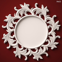 3d model of mirror frame stl cnc