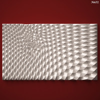 (632) Wall Panel -3d STL model for CNC