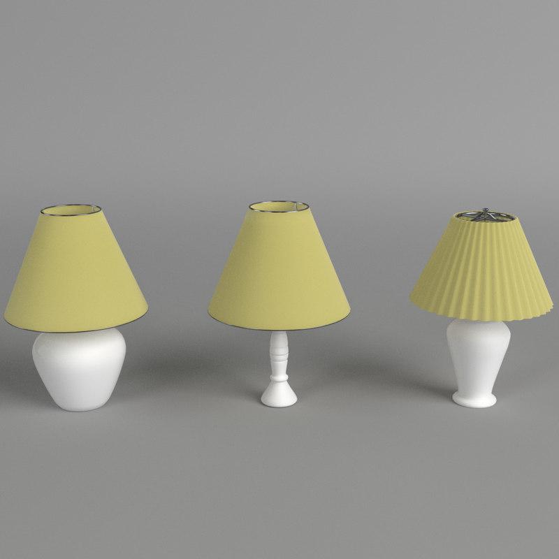 max 3 abat-jours lamps