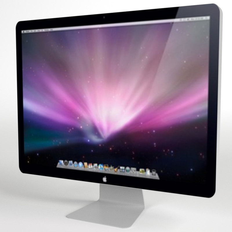 apple 24 inch led 3d max