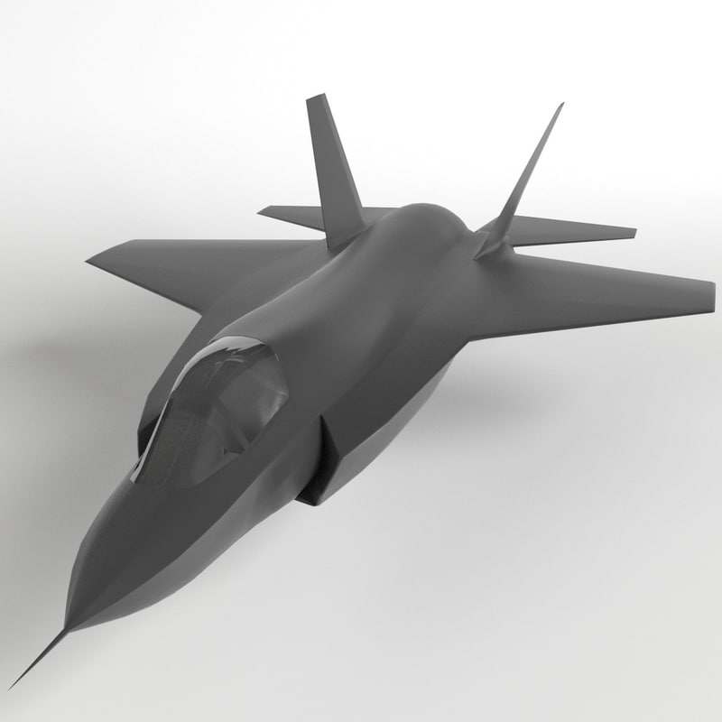 3d f-35 lightning ii mesh