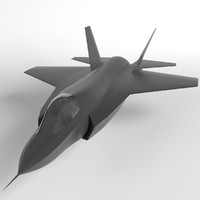 F-35 Lightning II base mesh