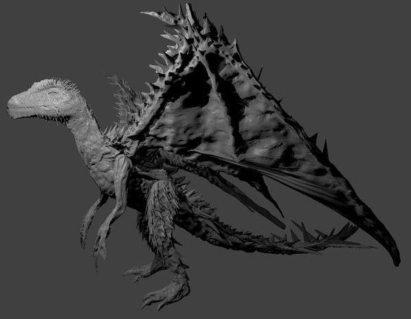complete dragon obj