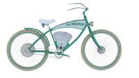 3d etracker bike model