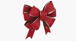 3d wrapping bow model