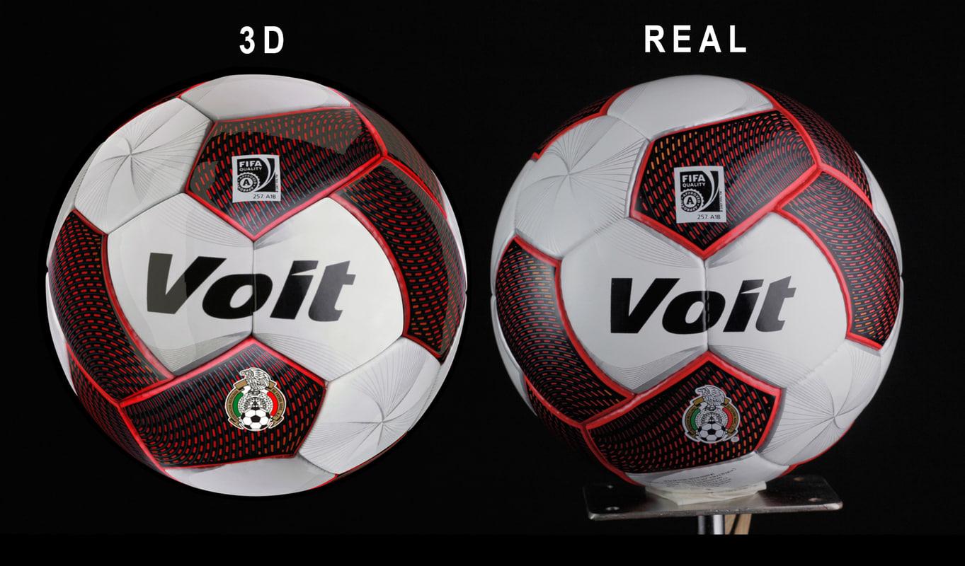 football ball obj